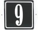 10 X 10 CM<br /> NUMER DOMU<br /> Z UCHAMI<br /> I RAMKĄ