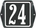 12 X 12 CM<br /> NUMER DOMU<br /> Z UCHAMI<br /> I RAMKĄ