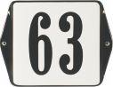 6 X 6 CM<br /> NUMER DOMU<br /> Z UCHAMI