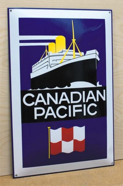 40 X 60 CM  <br /> CANADIAN PACIFIC <br /> WYPUKŁE