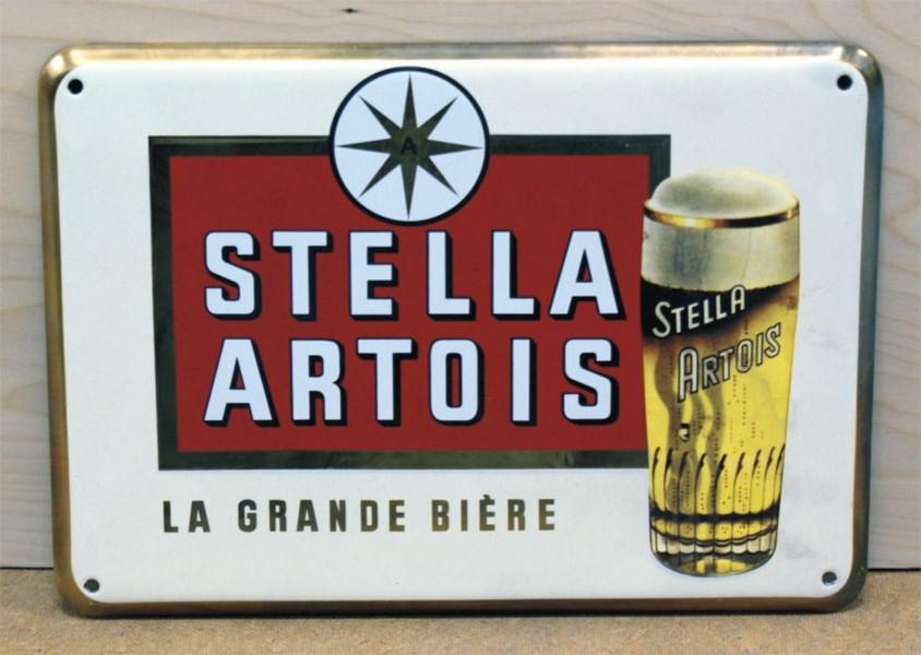 48 X 30 CM <br /> STELLA ARTOIS <br /> Z ZAGIĘTYMI KRAWĘDZIAMI